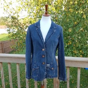 Vintage 90s Levi Strauss Tapered Denim Jacket